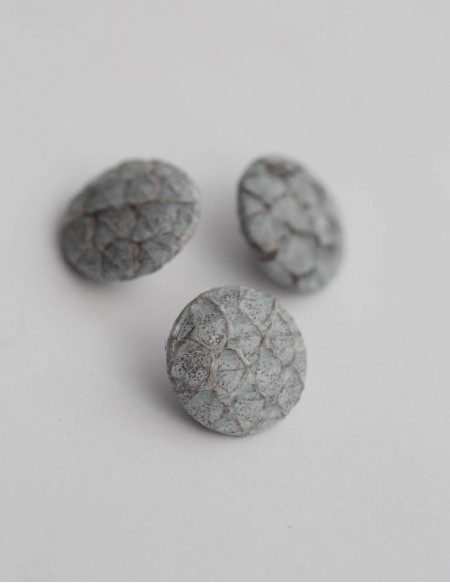 BUTTON 1,5 cm // GREY