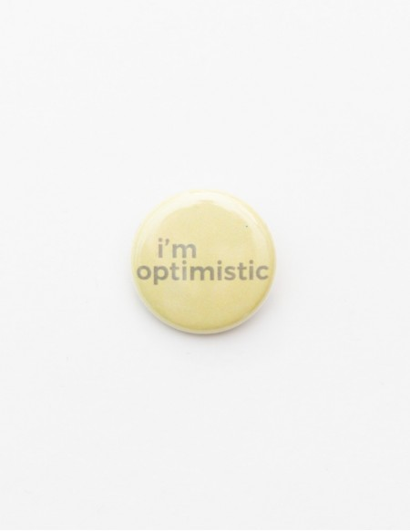 BADGE // I'M OPTIMISTIC