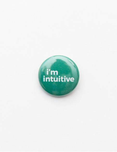 BADGE // I'M INTUITIVE